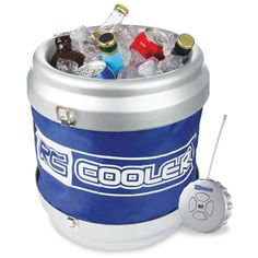 The Remote Controlled Rolling Beverage Cooler.