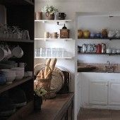 An authentic country kitchen in the south of France