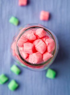 Old-Fashioned Butter Mints (peppermint flavor) - Easy, no-bake recipe for creamy, smooth mints like your grandma may have kept in her candy jar or that you'd get in a restaurant!