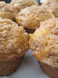 Autumn Apple and Pumpkin Muffins