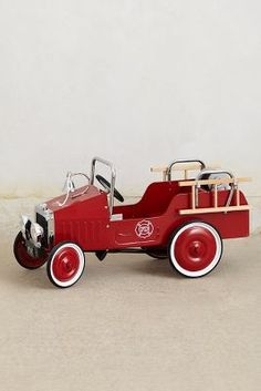 *PEDAL CAR ~ Fire Engine