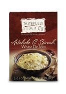 Artichoke & Spinach Warm Dip Mix from Tastefully Simple....YUM!