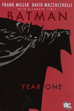 "85. ""Batman: Year One"" by Frank Miller, David Mazzucchelli, and Richard Lewis (February 2013)"