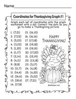 Math- Thanksgiving on Pinterest | Graphing Activities, Thanksgiving ...