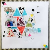 heart scrapbook, scrapbook los, scrapbook inspir, idea scrapbook, galleri