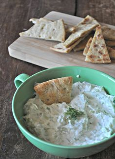 greek yogurt dip-yum!