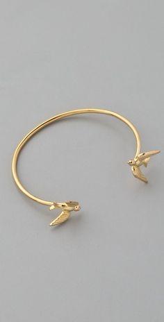 Kissing Swallows bracelet