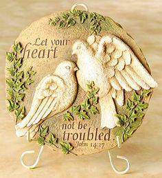 Doves Garden Plaque