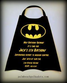 batman party ideas   Batman Party