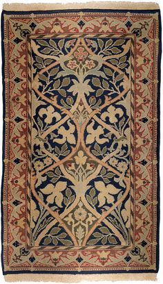 William Morris. Hammersmith Rug, 1880-1910. Morris & Company.