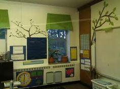 elephants, classroom idea, classroom decor, eleph classroom, trees, creativ classroom, scott classroom