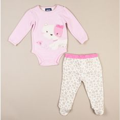 Kitty Cat Bodysuit and Pant Set