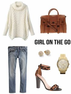 Girl on the Go #fashion #onthego #style