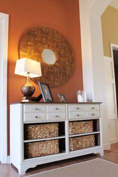 Southern Revivals: Vintage Dresser Turned Pottery Barn Style Storage A Dresser Revival