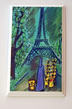Madeline by Ludwig Bemelman Wall Hanging for nursery or child's room. $22.00, via Etsy.  #french #themed #nursery #art #paris #france #parisian #chanel #fashion
