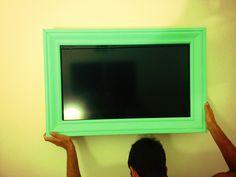 Framed my TV <3