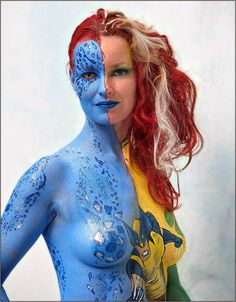 COSPLAY MEETS BODY PAINT