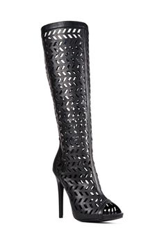 First Look at Fall! Loving these sexy cutout boots!