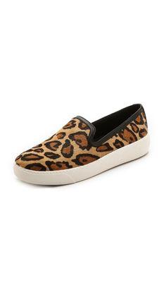 leopard slip ons <3
