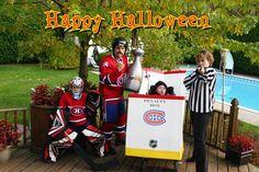Halloween Habs costumes
