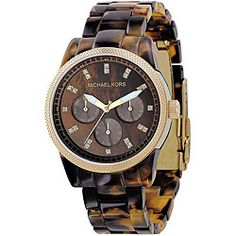 Michael Kors Women's MK5038 Tortoise Watch