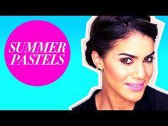Summer pastels makeup tutorial