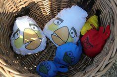 Genious! Angry birds beanbag game