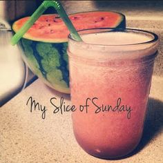 Dr. Oz Holiday Detox - Fast Flush Water Recipe :: Watermelon, Coconut Water, Water and Ice :: Blended and sip 5 glasses daily. Relieves bloating, removes toxins and sodium and recharges your metabolism
