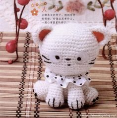 Free Little Kitty Cat Amigurumi Crochet Pattern And Tutorial : cat patterns and inspirations on Pinterest 325 Pins