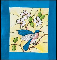 <p>Free Tiffany Bluebird Quilt Pattern</p>