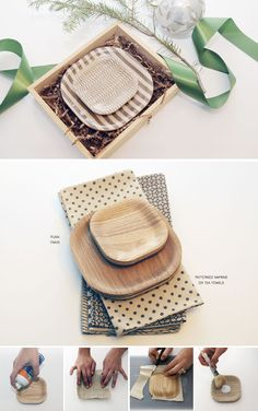 DIY - Lacquered Pattern Trays - Full Step-by-Step Tutorial