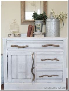 cats, idea, litter box, boxes, dressers, door, tree branches, old cabinets, drawer pulls