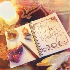 New Moon Intentions HOW TO ALCHEMISE THE NEW MOON ENERGY TO MANIFEST YOUR GOALS