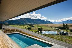 Hawkesbury residence by Marmol Radziner, Mt. Barker, Wanaka, New Zealand.