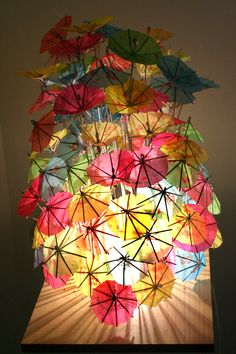 cool idea for a lamp shade