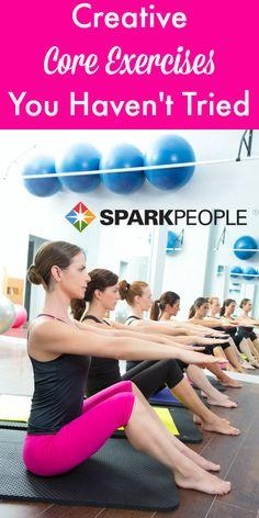 10-Minute Creative Core Workout Video via @SparkPeople