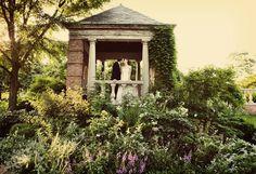 This lush green photo opp at the Chicago Botanic Gardens is gorgeous.