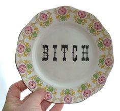 Trixie Delicious Bitch Plate