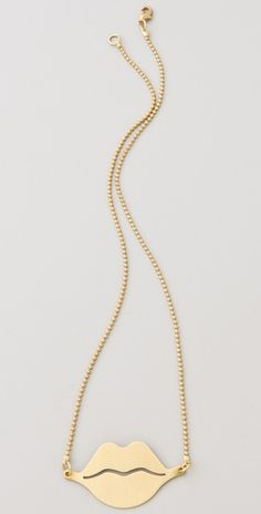 Our new Lips Charm Necklace