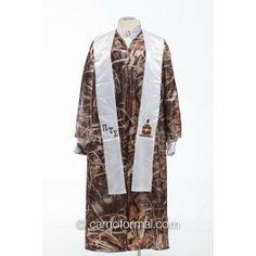 Camo Graduation Gown