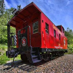 How red is my caboose?