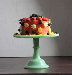Memorial Day Fruitcake | Darling Magazine