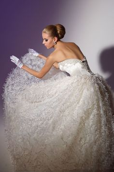 Victor Harper - Couture  Designer Bridal Gown - Style VHC225
