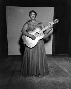 The great folk singer, Odetta.