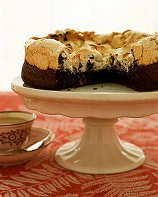 Chocolate Meringue Cake - Martha Stewart Recipes