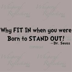 Thank you, Dr. Suess :D