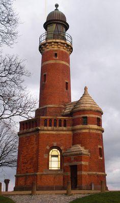 Holtenau Lighthouse in Kiel, Germany  CMFB