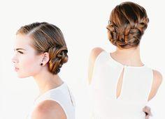 Wedding-French-braid-bun