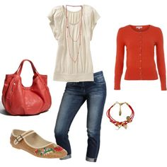 . fashion, red, cloth, style, burnt orange, color, outfit, casual fridays, shoe