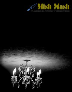 Black & White Fine Art Photography Chandelier by MishMashArt, $30.00